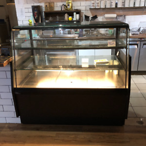 Used commercial cake display case for sale