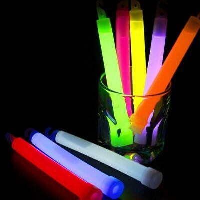 Hanging Glow Sticks (Fluorescent Glow Sticks Halloween Party Hanging Decoration Camp Emergency)