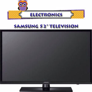 """SAMSUNG 52"""" LED TV WITH REMOTE & MULTIPLE CONNECTIONS"""