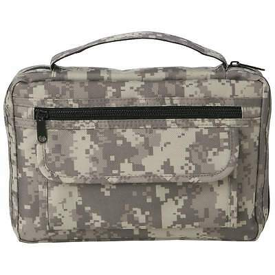 Digital Camo Nylon Bible Cover, Mens Outdoor Book Protector Protector Cover Case