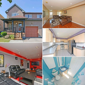 For Sale - Beautiful 3 Bedroom Semi-Detached Home in Brampton