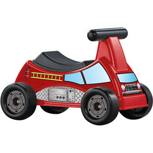 American Plastic Toys Fire Truck Ride-On BRAND NEW