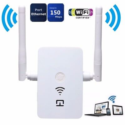 Wireless Range Extender Wifi Repeater Signal Booster 802 11N B G Network Router