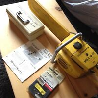 """McCulloch Lightweight Chainsaw 14"""" with Extras"""