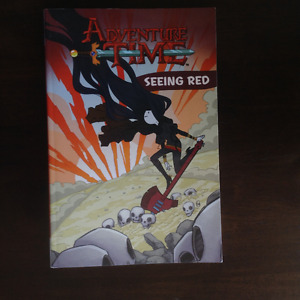 "Adventure Time ""Seeing Red"" Graphic Novel"