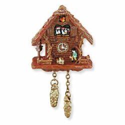 Dollhouse Miniature Black Forest Cuckoo Clock by Reutter Porcelain