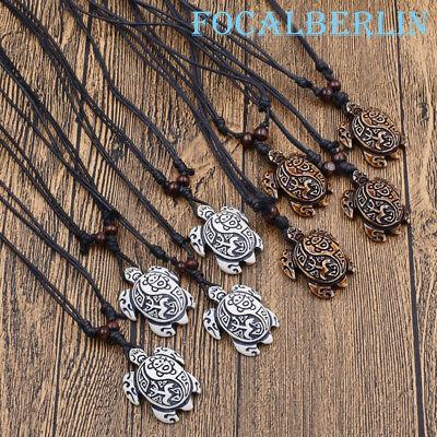 Künstlich Jak Knochen Halskette Herrenschmuck Dame Geschenk Schildkröte Form