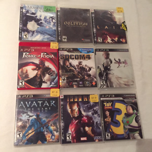PS3 jeux (Avatar, Ironman, Final Fantasy XIII-2, PrinceofPersia)