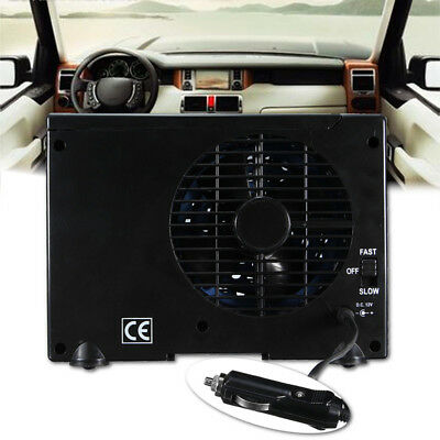 Adjustable Water Ice Evaporative 12V Car Auto Air Vent Conditioner Cooling Fan