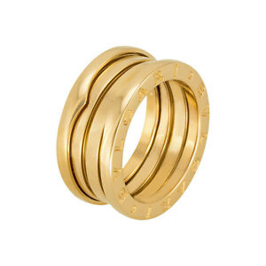 Bvlgari Bulgari Inspired 14k Bzero Wedding Band Ring 14K Gold
