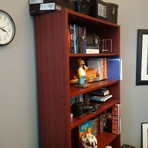 Book Case and Desk For Sale