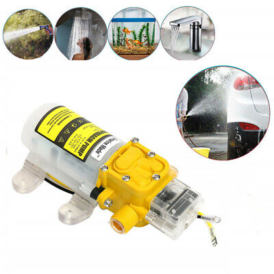 12v Water Pump 3.6lmin Self Priming Pump Diaphragm High Pressure Auto Switch