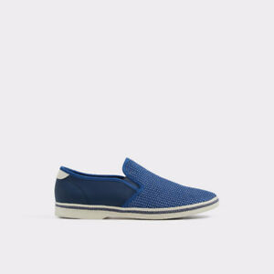 New Aldo Loafer Slip On Moccasin Driving Shoes 8 Blue diesel b2