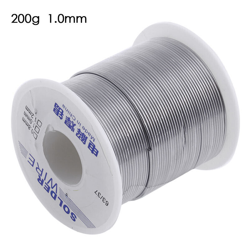 63/37 Rosin Core Weldring Tin Lead Industrial Solder Wire 1.0mm 200g NEW