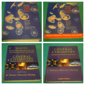 University Textbooks - Physics, Biology, Engineering, Chemistry