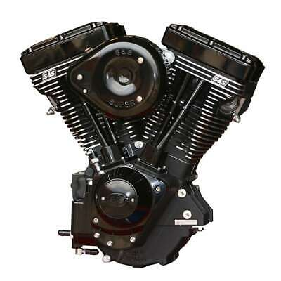 V124 S&S Cycle Evolution 84-99 Hd Engine BLACK EDITION