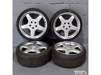 "18"" Mercedes 5 Spoke Style 126 Alloy Wheels"