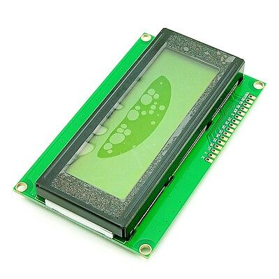 2004 20x4 Hd44780 Character Lcd Display Module Lcm For Arduino Uno R3 Yellow