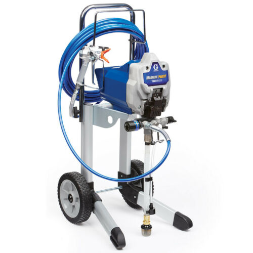Graco Magnum Pro X17 Cart Airless Paint Sprayer 17g178 PRO17 - A-/B+ condition!