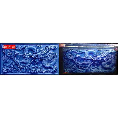 100cm X 50cm 3D Chinese Dragon Fish Tank Background  Aquarium Decoration Picture