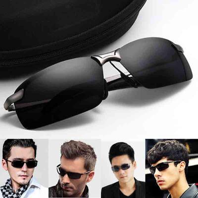 Sonnenbrille polarisiert, Dunkel HD, UV 400, gute Qualität Hülle, #966