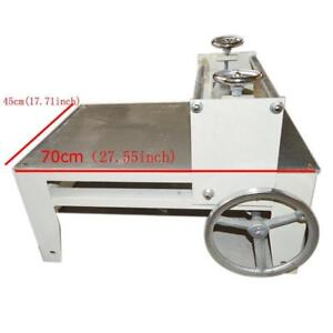 Second-Hand Ceramic clay plate machine Slab Roller for Clay, Heavy Duty, Portable,   Tabletop, Adjustable, No Shims