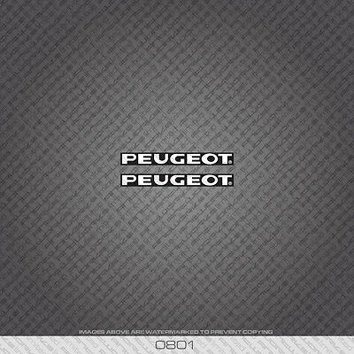 Decal 0643 Peugeot Bicycle Chain Stay Frame Sticker Transfer