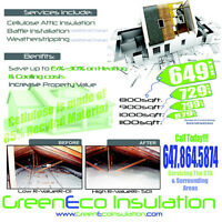 Insulation Service Save big on Monthly Energy Cost CALL TODAY
