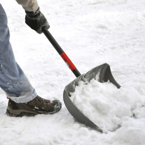 Upper sherman snow clearing