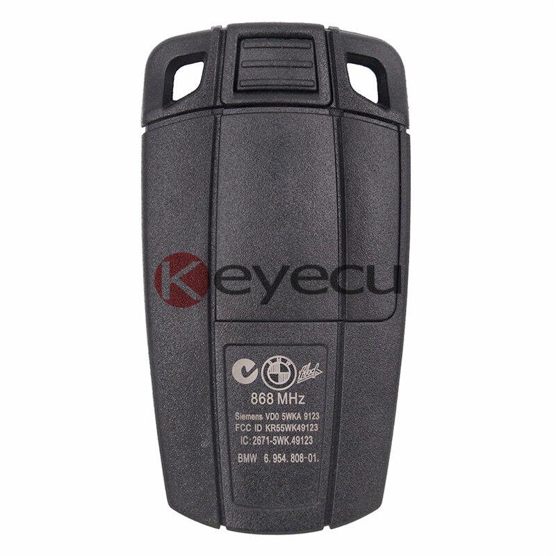 3 Button Remote Car Key Fob CAS3 CAS3+ 868MHz ID7944 For