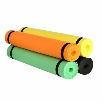 4mm Yoga Mat Non-Slip Pilates Pad Fitness Gym Exercise Sport Home Workout Campin 1