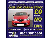 Renault Clio Dynamique Medianav Dci 1.5Diesel GOOD/BAD CREDIT CAR FINANCE