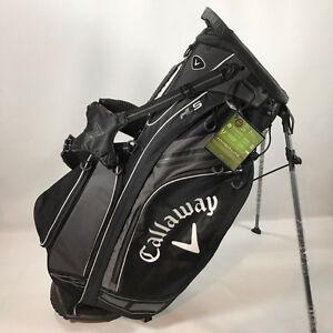 CALLAWAY HYPER-LITE 5 BLACK STAND BAG