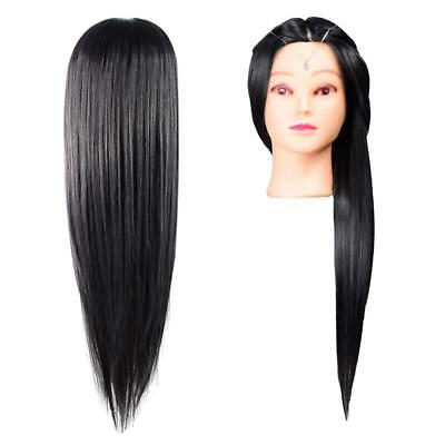 Hair dressing Training Head Doll Mannequin Hairdressing Practice Trainee Dummy
