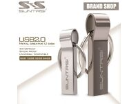 Suntrsi 4GB USB Flash Drive KeyRing Pendrive Metal Pen Drive Key Chain USB Flash