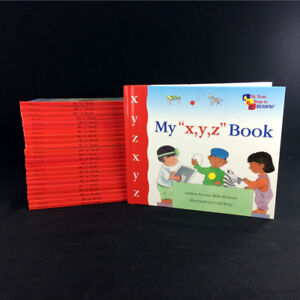 My First Steps To Reading Books Complete Set A-Z Alphabet