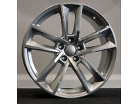 "19"" RS7 / A7 Style Alloy Wheels & Tyres. Suitable for most Audi A4, A5 & A6 (5X112)"