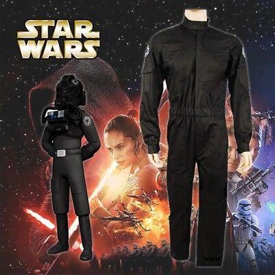 Star Wars Imperial Krawatte Fighter Jäger Pilot Fluganzug Cosplay Kostüm - Imperial Star Wars Kostüm