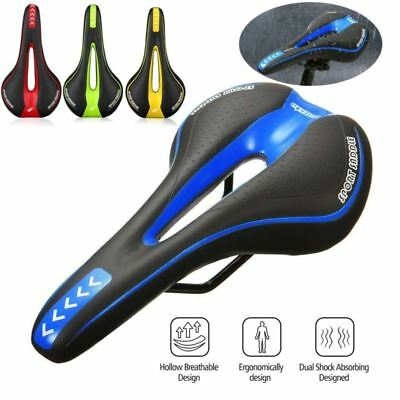 MTB Gel Comfort Saddle Bike Road Mountain Bicycle Cycling Seat Soft Cushion (Cycling Bicycle Bike Saddle)