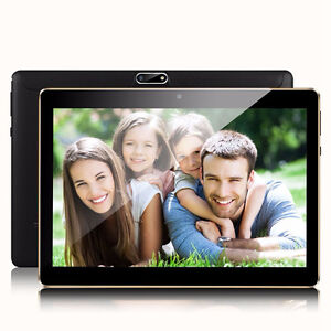 "New Padgene 10.1"" Android Tablet w- Dual-Sim Card + MiroSD card"