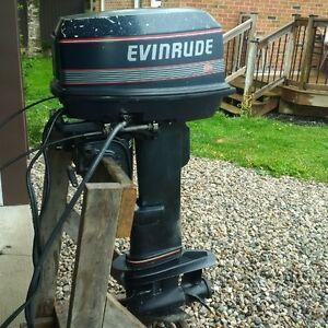 25 hp evinrude long shaft
