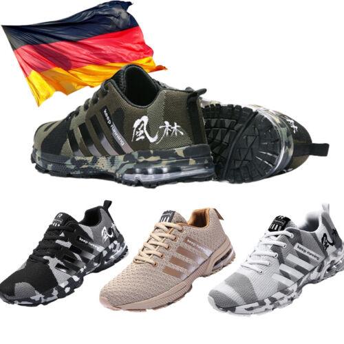 Herren Sportschuhe Laufschuhe Turnschuhe Schnürer Sneaker 36-46 Trendy Neu