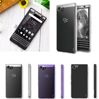 For BlackBerry KeyOne Case Slim Gloss Soft Gel TPU Silicone Case Skin (Blackberry Silicone Skin Case)