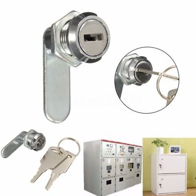 Cam Lock File Cabinet Mailbox Tool Box Desk Drawer Cupboard Locker And 2 Keys Br