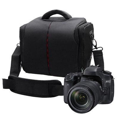 Portable Waterproof DSLR Camera Shoulder Backpack Bag Case Nylon For Nikon Canon