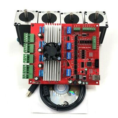 Mach3 Cnc 4-axis Kit Tb6560 Stepper Motor Driver Board Controllernema23power