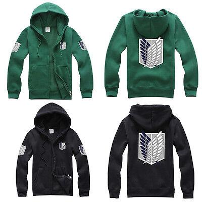 Attack On Titan Anime Survey Legion Hooded Sweatshirt Cosplay Hoodie Coat Jacket