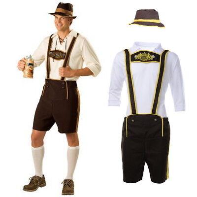 Mens Oktoberfest Costumes Traditional German  Halloween Cosplay Set