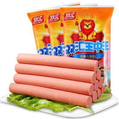 6bags China Ham Sausage Food snacks SHUANGHUI wangzhongwang 双汇王中王240gx6bags