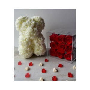 Rose Teddy Bear for Valentine's Day